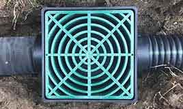 drainage install