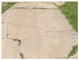 Concrete crack repair Dallas, TX