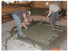 Concrete repair Grand Prairie, TX