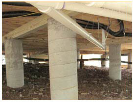Pier and beam foundation repair plano tx for How to build a post and pier foundation