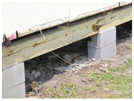 Pier and beam foundation repair contractor, Dallas, Fort Worth, Arlington TX