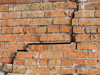 Shifting Foundation Causing Bricks To Crack