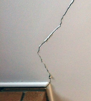 drywall cracks - Fixing Foundation Cracks