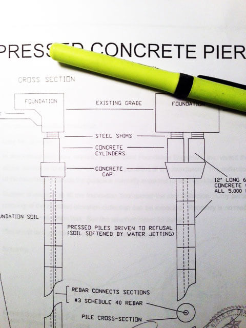 Find out what is required in an engineer's report for foundation repair.