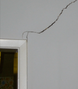 Foundation damage and cracks could occur due to remodels.
