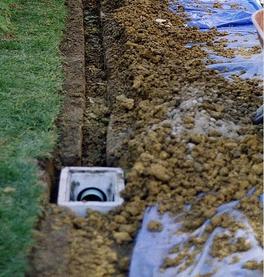 Installation of Surface Drainage