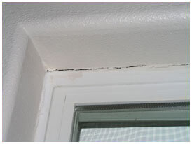 Cracks Around Door Frame