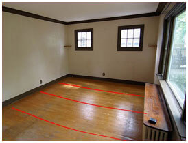 It's important to identify the causes of foundation issues, such as floors that aren't level.