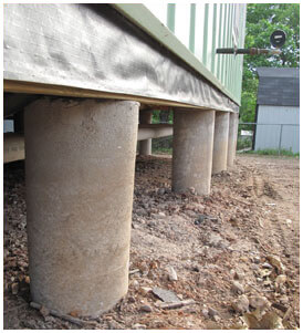 Pier and beam foundation repair Dallas, Tx