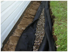 Here's a tip: To prevent foundation repair problems in Dallas, Fort Worth and Grand Prairie? Drainage systems installed by HD Foundations help.