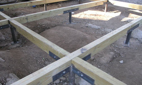 Common problems with pier and beam foundations for Post and pillar foundation