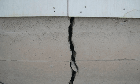 Slab cracks damage foundations in Dallas, Fort Worth, TX. and slab foundation repair may be required to end problems.