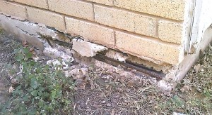 Even though earthquakes can create a great deal of damage, North Texas area house foundations have not been harmed.