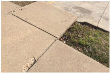 Concrete contractors in North Texas; concrete driveway repairs