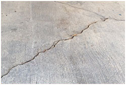 Concrete repair in Plano, TX; concrete contractors offer cost effective service on cracks and other problems quite commonly.