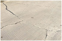 Irving concrete repair contractors in TX stop cracking.