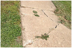 Paving concrete in Plano stops costly problems.