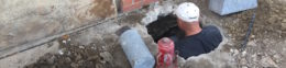 Concrete Slab Foundation Repair On Cracks Using Piers