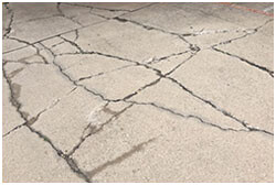 Cracked parking lot repair, Dallas, TX, parking lot paving
