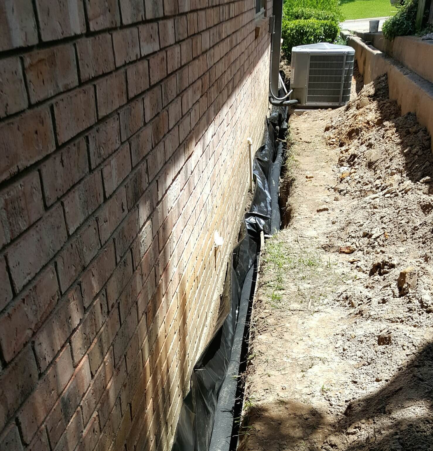 how to build a french drain around foundation