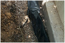 Drainage contractors Irving, TX, foundation drainage systems