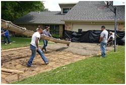 Driveway repair contractors Dallas, driveway paving TX
