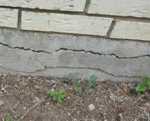 Why do concrete slab foundations crack hd foundations for Poured concrete foundation cracks