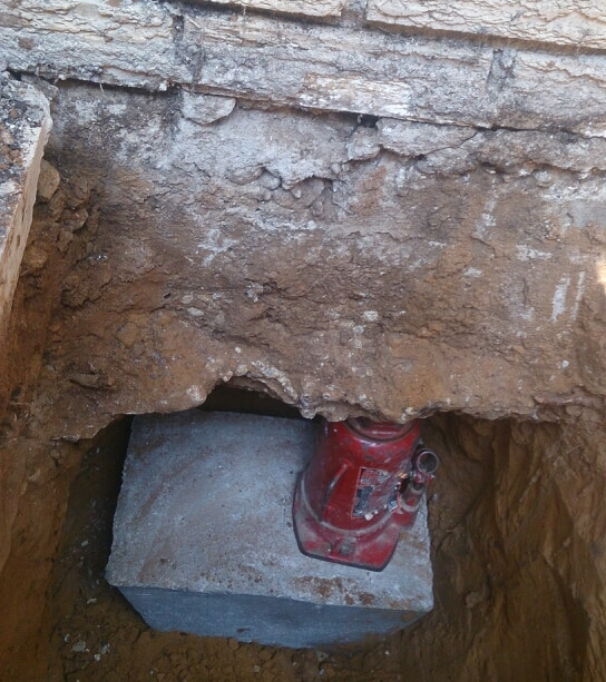 Foundation movement slab foundations crack repair for Types of slabs for house