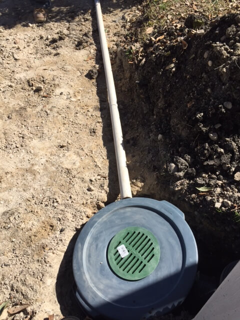 Drainage System Colleyville Tx French Drains Surface