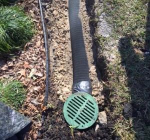 Drainage system installation Grand Prairie TX