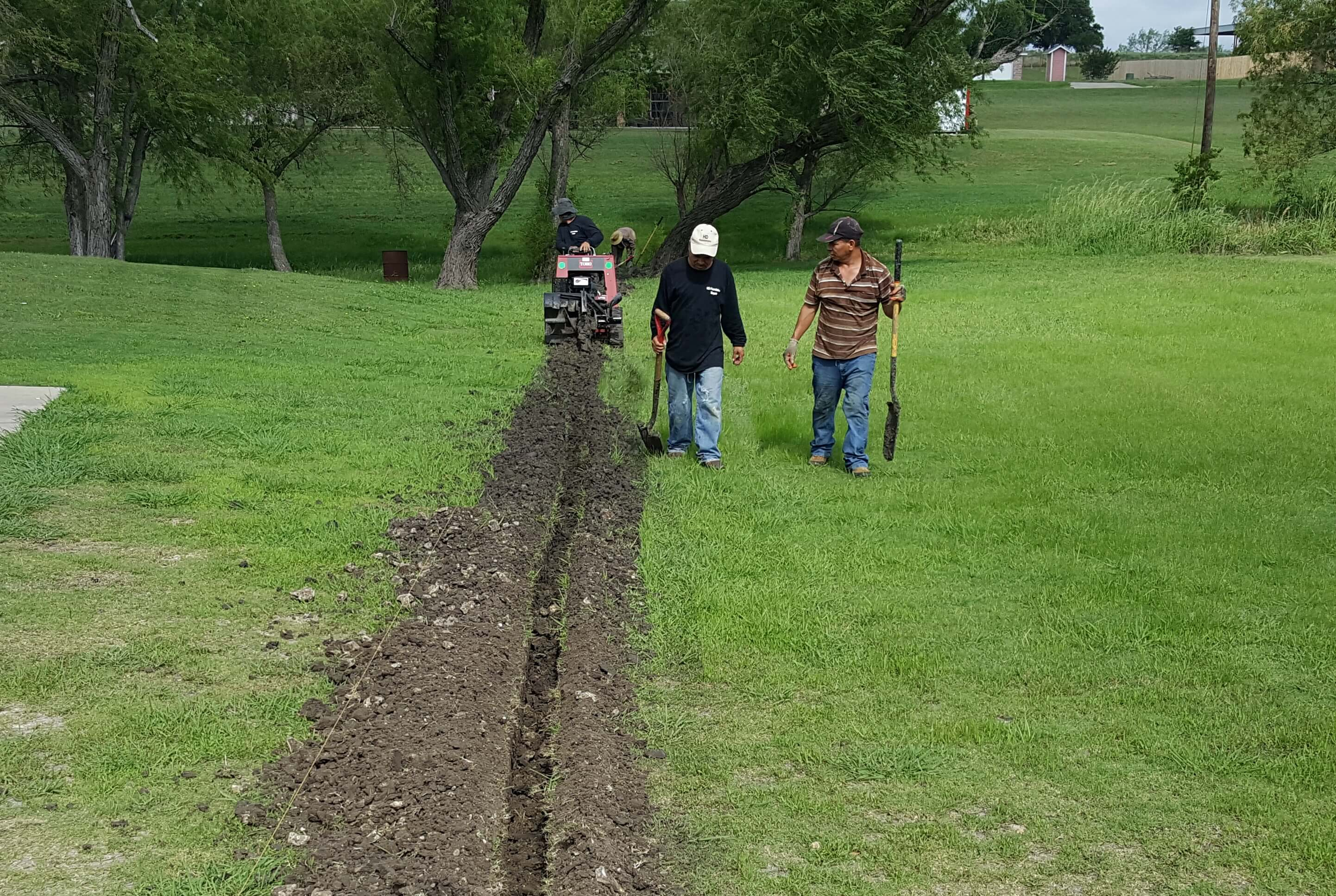 Backyard Drainage Systems drainage systems arlington tx | french drains & surface drains | hd
