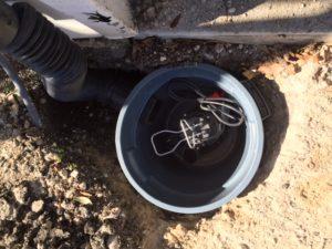 Foundation drainage system installation Arlington TX