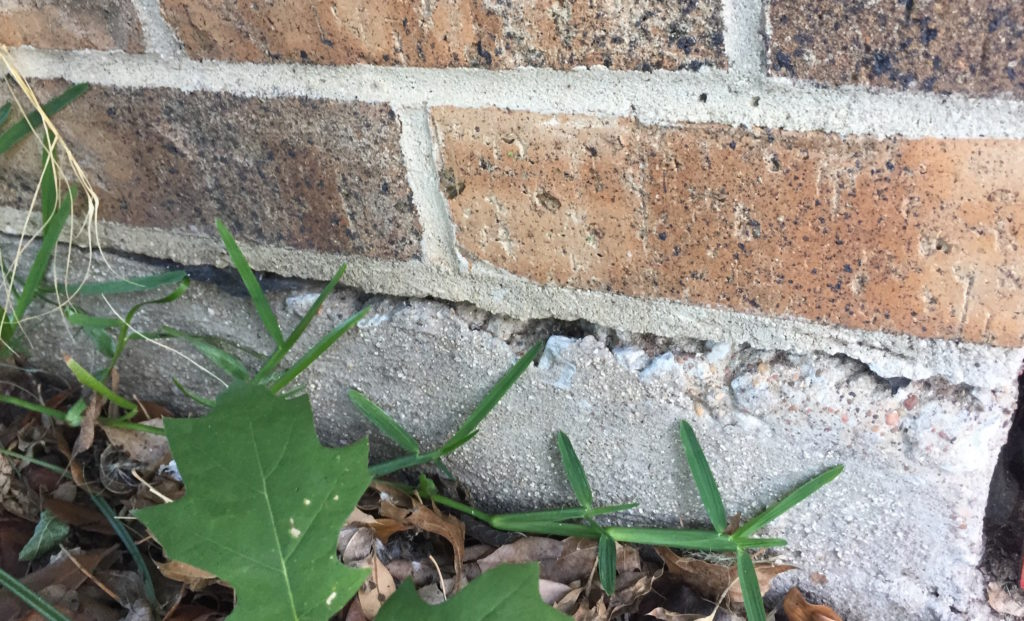 Which Type Of Foundation Cracks Are Most Serious Hd