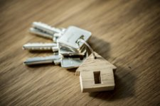 Photo of keys to a new home