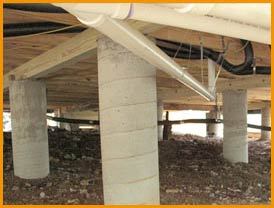 Concrete Post And Beam Foundation Pictures To Pin On
