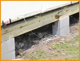 Pier and beam foundation repair fort worth and arlington for Pier foundation cost